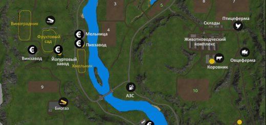Карты для Карта «Долины Алтая v 4.0 Финал» для Farming Simulator 2015
