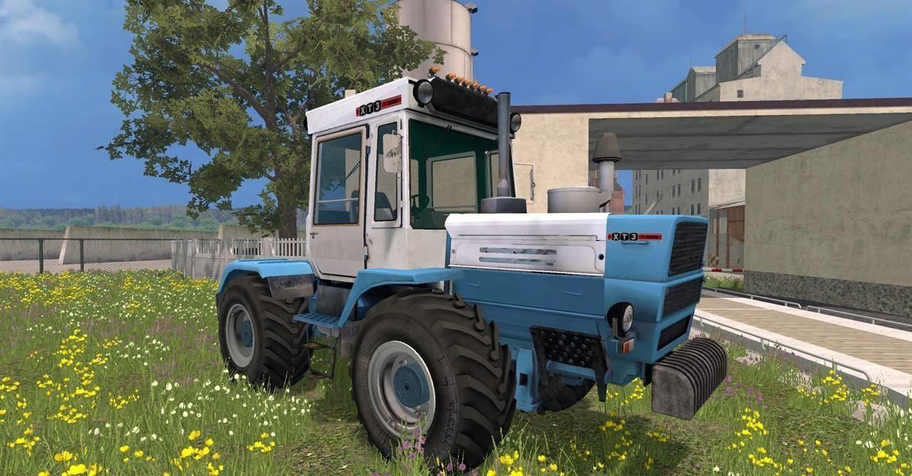 Русская техника для Мод трактор ХТЗ 200K V2.1 для Farming Simulator 2015