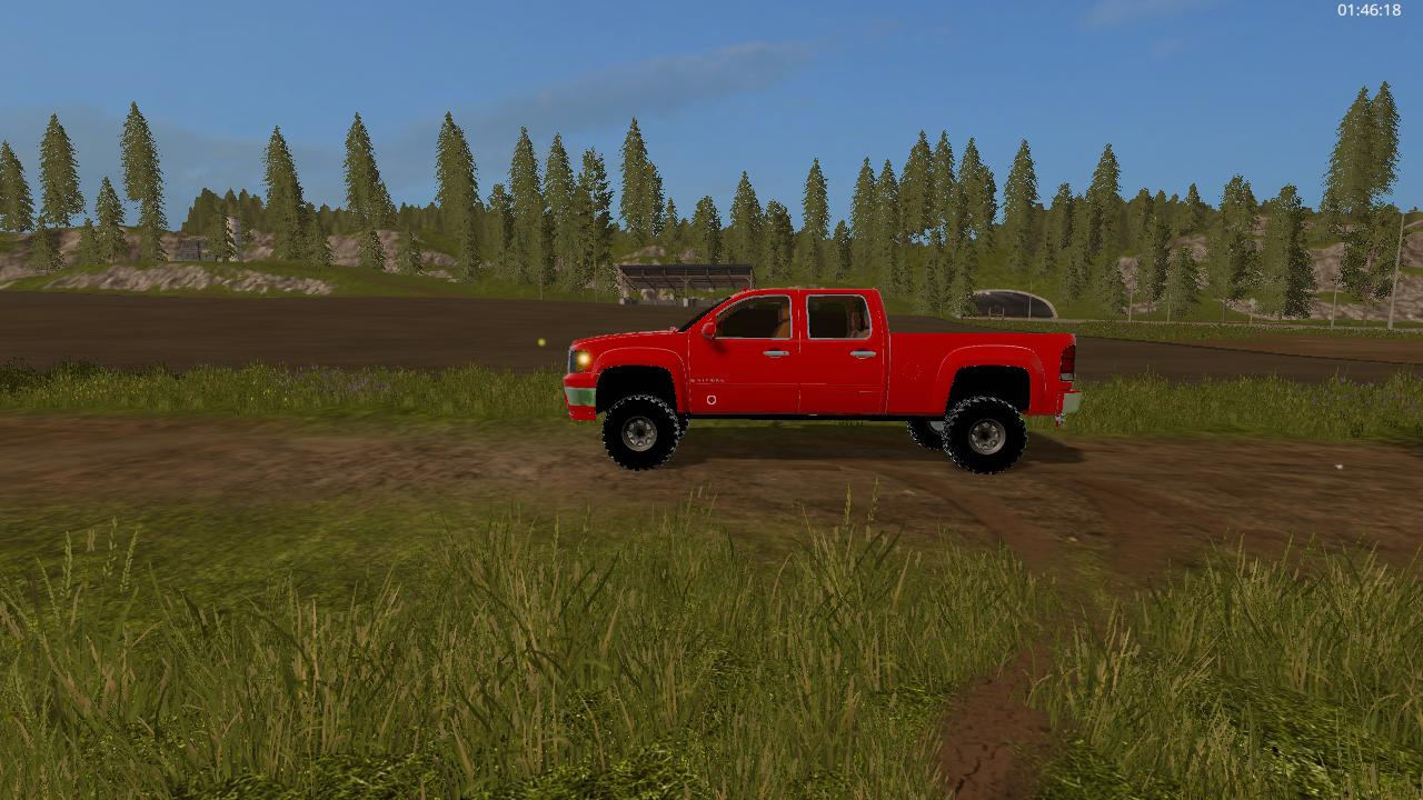Машины для игры мод Мод машина «2007 GMC v 1.0» для Farming Simulator 2017