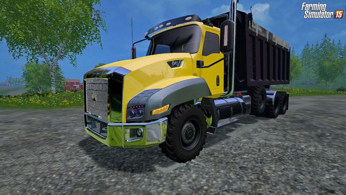 Грузовики для Мод грузовик Caterpillar T660 v1.0 для Farming Simulator 2015