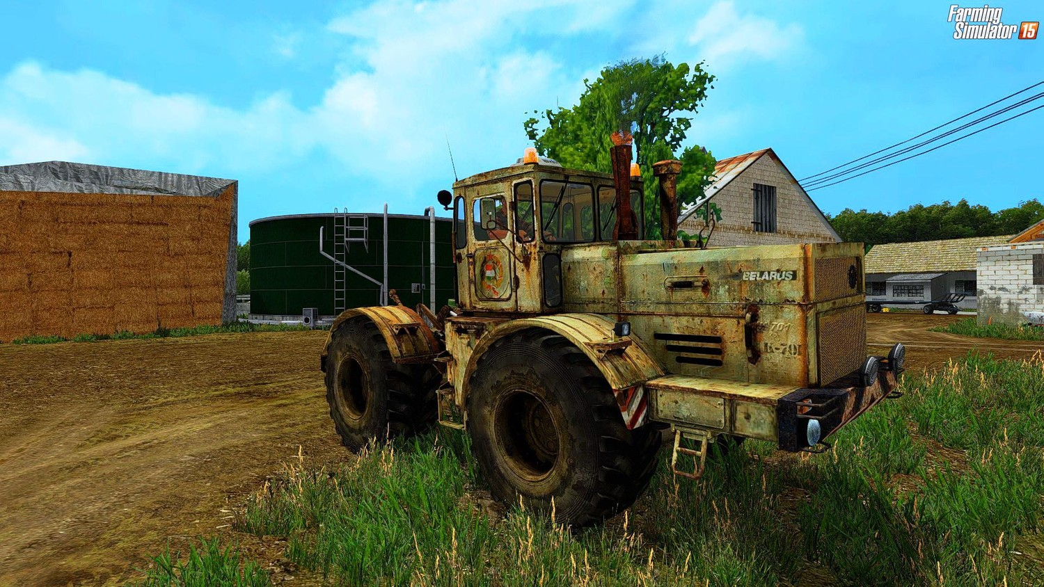 Русская техника для Мод трактор К-701 «Кировец» (OLD EDITION) V2.0 для Farming Simulator 2015