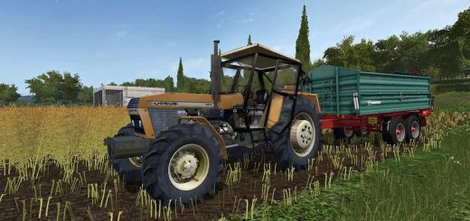 Тракторы для игры мод Мод трактор URSUS 1614 v 1.0 для Farming Simulator 2017