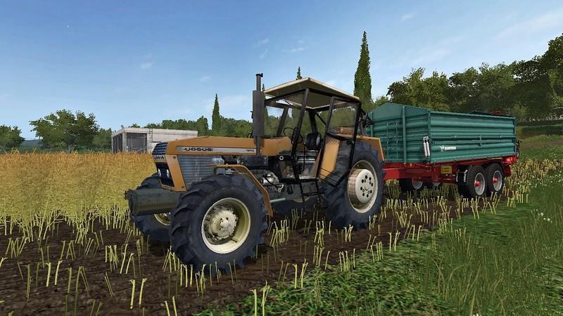 Тракторы для игры мод Мод трактор URSUS 1614 v 1.0 для Farming Simulator 2017