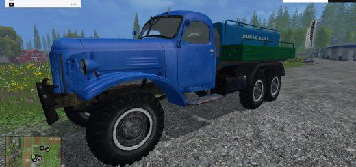 Русская техника для Мод грузовик «ЗиЛ 157 рыбовоз» для Farming Simulator 2015