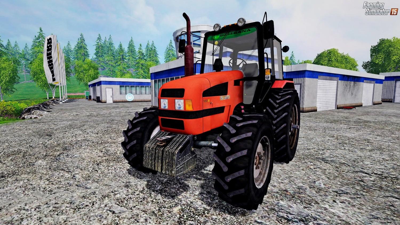 Русская техника для Мод трактор Беларус-1221.3 v1.0 для Farming Simulator 2015