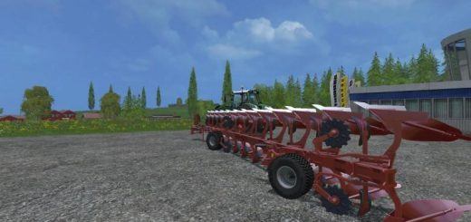 Плуги для игры мод Мод на плуг «Maschio lelio XXL 12 v1.0» для Farming Simulator 2017