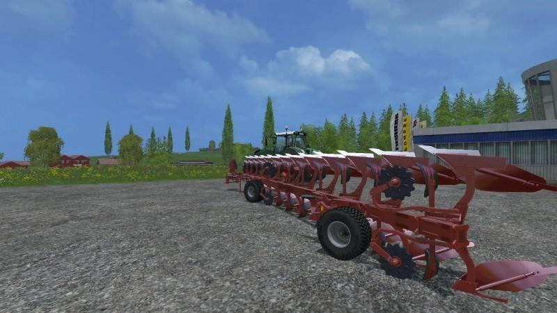 Плуги для игры мод Мод на плуг «Maschio lelio XXL 12 v1.0» для Farming Simulator 2017