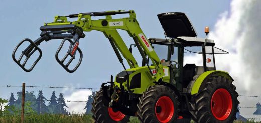 Тракторы для Мод трактор «Claas Axos 330 v2.0» для Farming Simulator 2015