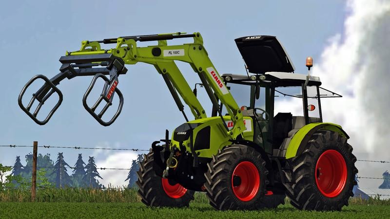 Тракторы для Мод трактор «Claas Axos 330 v2.0» для Farming Simulator 2015
