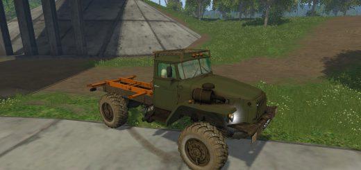 Русская техника для Мод тягача «Урал 43206» для Farming Simulator 2015