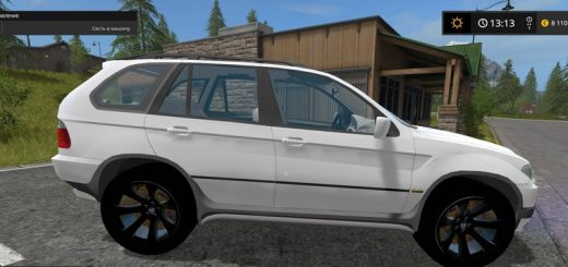 Машины для игры мод Мод машина «BMW X5 15 Special Vehiclev 2.0» для Farming Simulator 2017