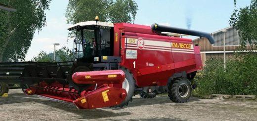 Русская техника для Мод комбайн «Полесье GS122» для Farming Simulator 2015