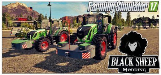 Другие моды для игры мод Мод-пак противовесов v1.0 для Farming Simulator 2017