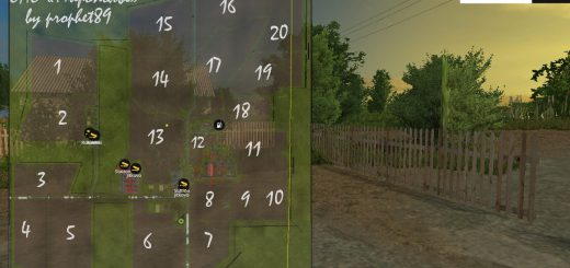 Русские карты для Карта «ОАО Мирополье» v2.0 для Farming Simulator 2015