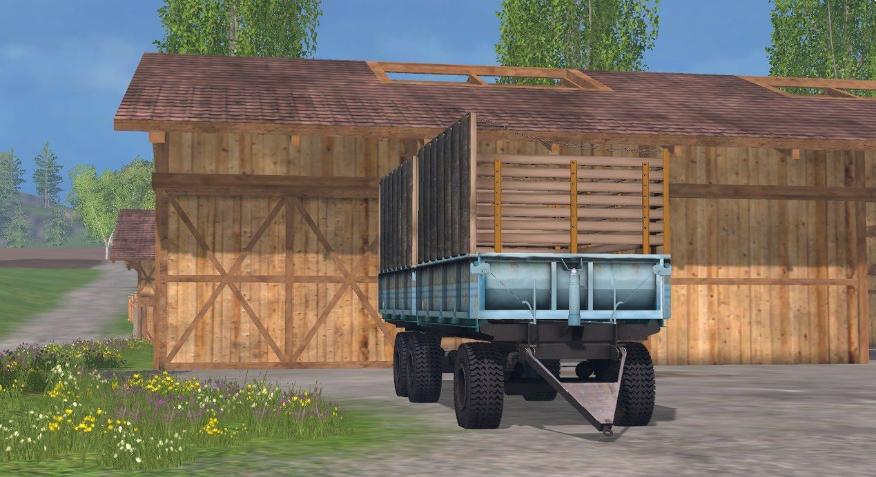 Прицепы для Мод прицеп «ПТС 12» для Farming Simulator 2015
