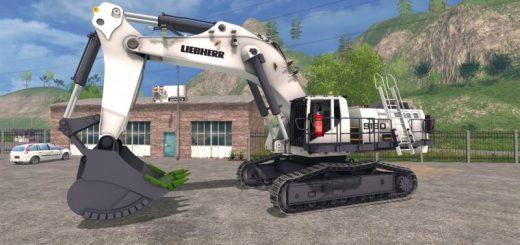 Погрузчики для Мод погрузчик «Liebherr 9150 beta» для Farming Simulator 2015
