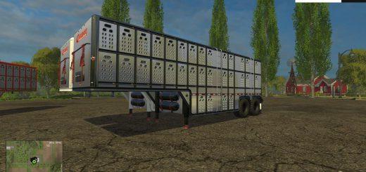 Прицепы для Прицеп для перевозки животных для Farming Simulator 2015