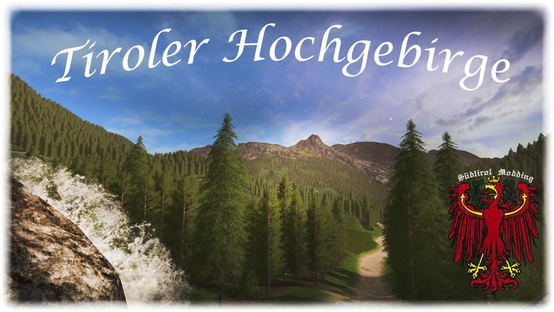 Карты для игры мод Карта «Tyrolean High Mountains» для Farming Simulator 2017