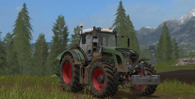 Тракторы для игры мод Мод трактор «Fendt 936 Vario v 1.0» для Farming Simulator 2017