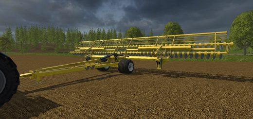 С/Х инвентарь для Мод культиватор БДМ 15 для Farming Simulator 2015