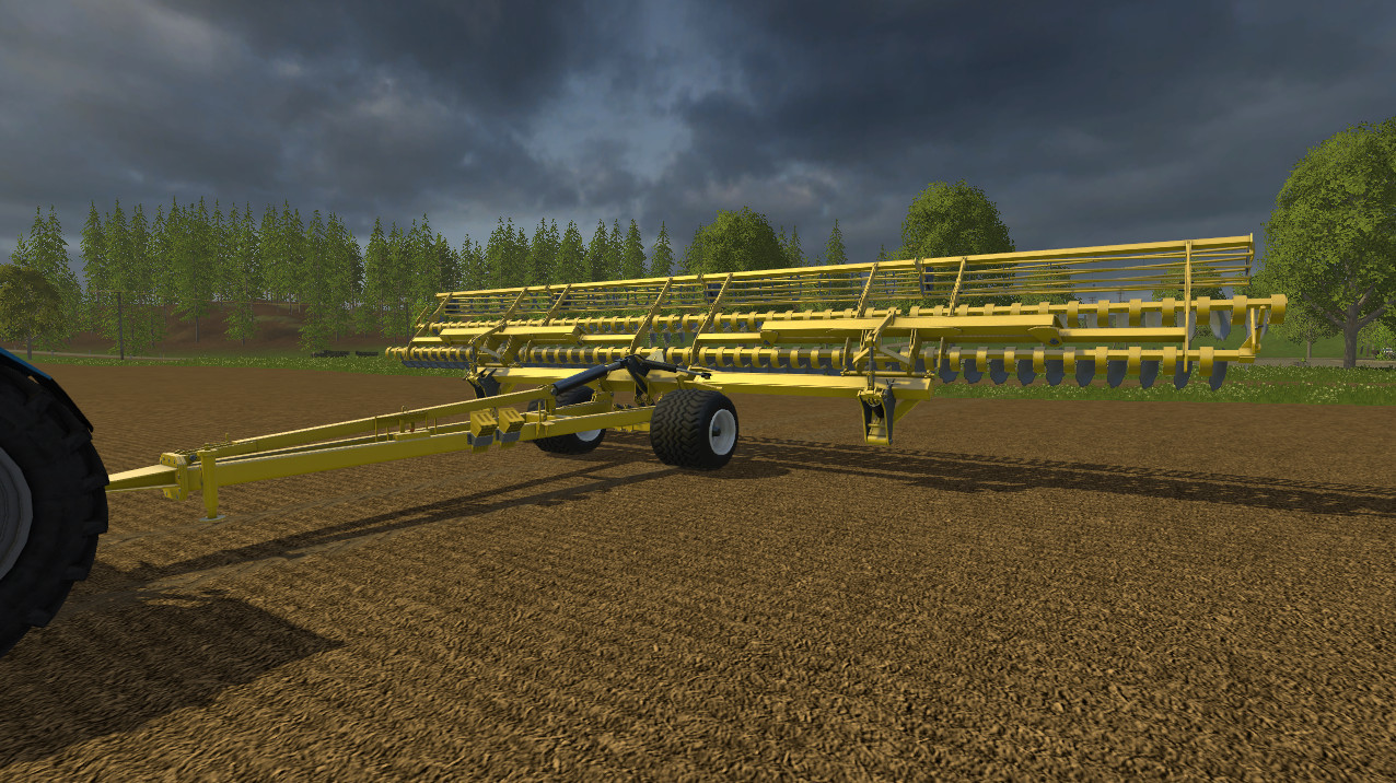 С/Х инвентарь для Мод культиватор БДМ 15 для Farming Simulator 2015