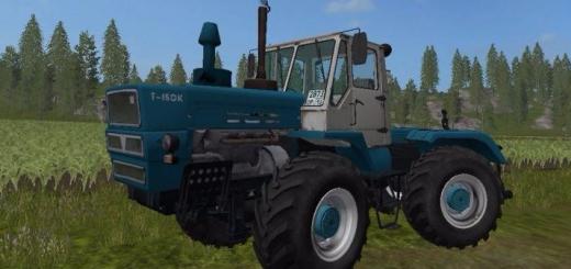 Русская техника для игры мод Мод трактор ХТЗ Т-150К для Farming Simulator 2017