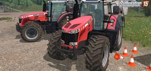 Тракторы для Мод трактор Massey Fergusson 8737 v1.0 для Farming Simulator 2015