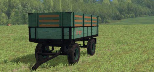 Прицепы для Мод прицеп Dubrava для Farming Simulator 2015