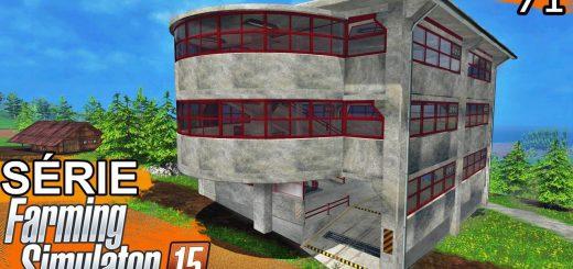 Объекты для карт для Мод «Parking Garage» v1.15b (парковка) для Farming Simulator 2015