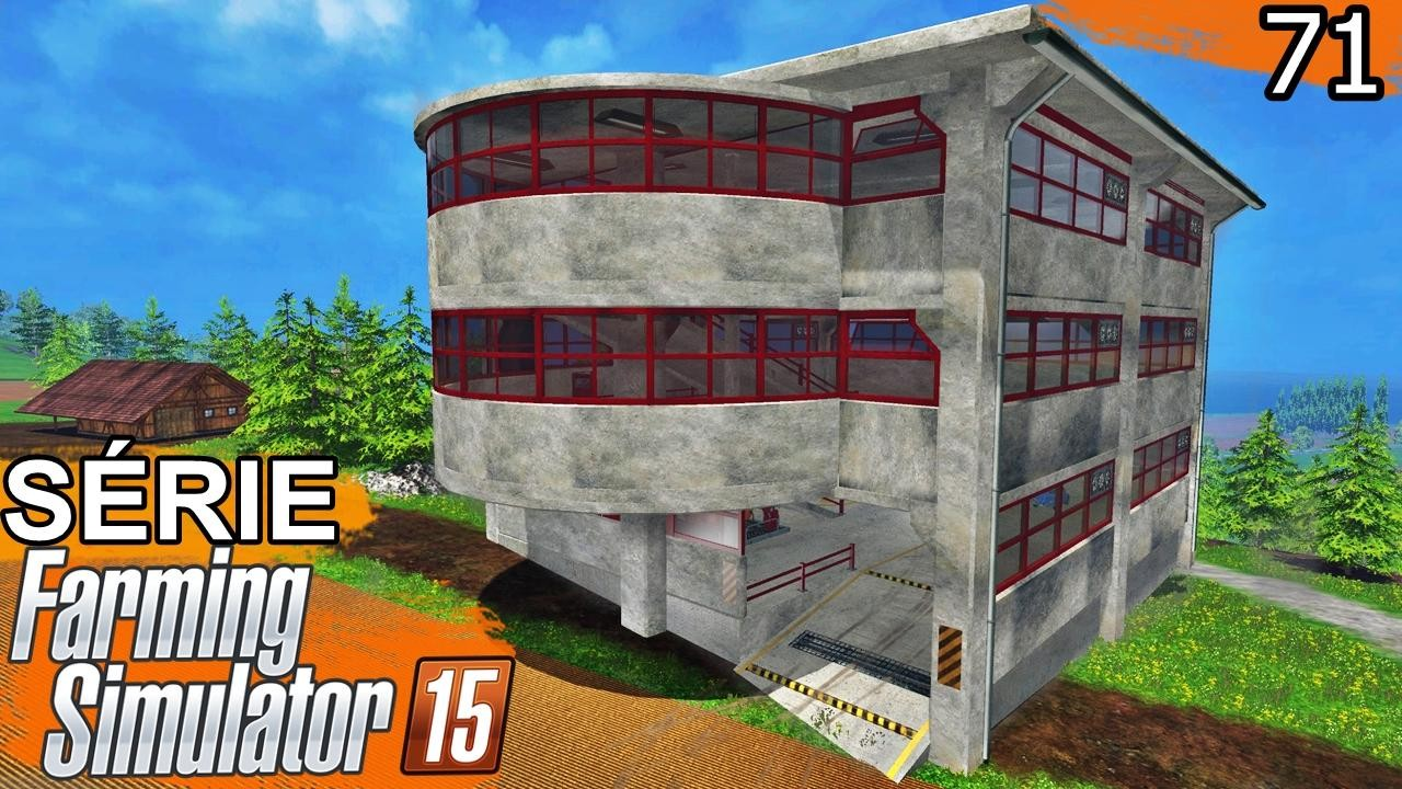 Объекты для карт для Мод «Parking Garage» v1.15b (парковка) для Farming Simulator 2015