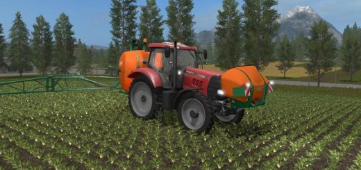 Тракторы для игры мод Мод трактор «Case IH PUMA 160 v1.0.1» для Farming Simulator 2017