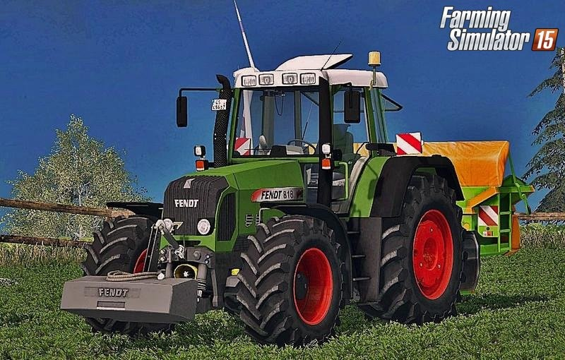 Тракторы для Мод трактор «Fendt 818 Vario TMS v2.0» для Farming Simulator 2015