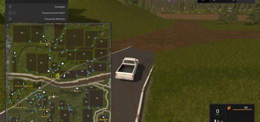 Карты для игры мод Большая карта «River valley XXL v1.0.3» для Farming Simulator 2017