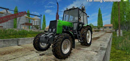 Русская техника для игры мод Мод трактор «МТЗ 1025 Беларус v1.2» для Farming Simulator 2017