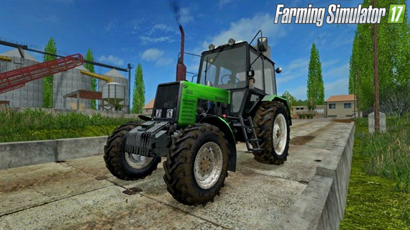 Русская техника для игры мод Мод трактор «МТЗ 1025 Беларус v1.2» для Farming Simulator 2017