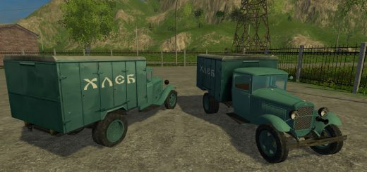 Русская техника для Мод грузовик ГАЗ-АА  для Farming Simulator 2015