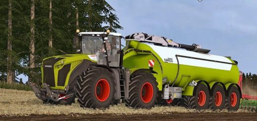 Тракторы для игры мод Мод трактор «Claas Xerion 5000 v 1.1» для Farming Simulator 2017