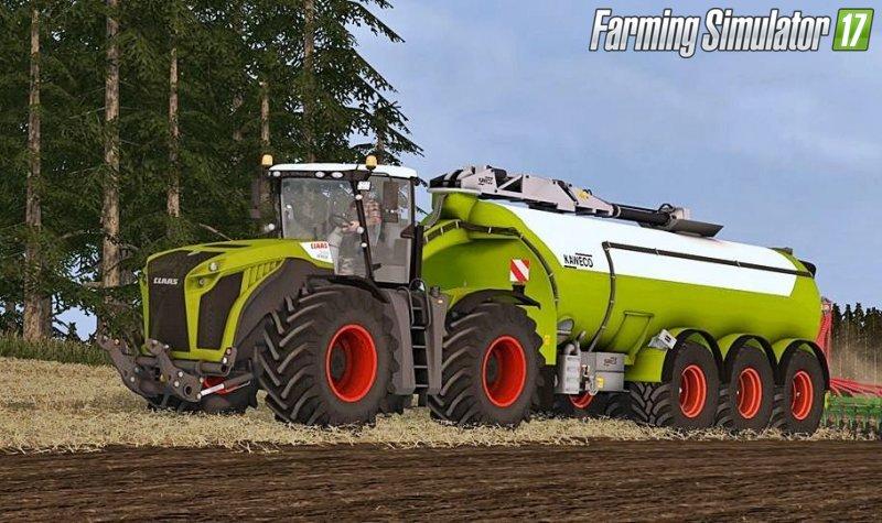Тракторы для игры мод Мод трактор «Claas Xerion 5000 v 1.1» для Farming Simulator 2017