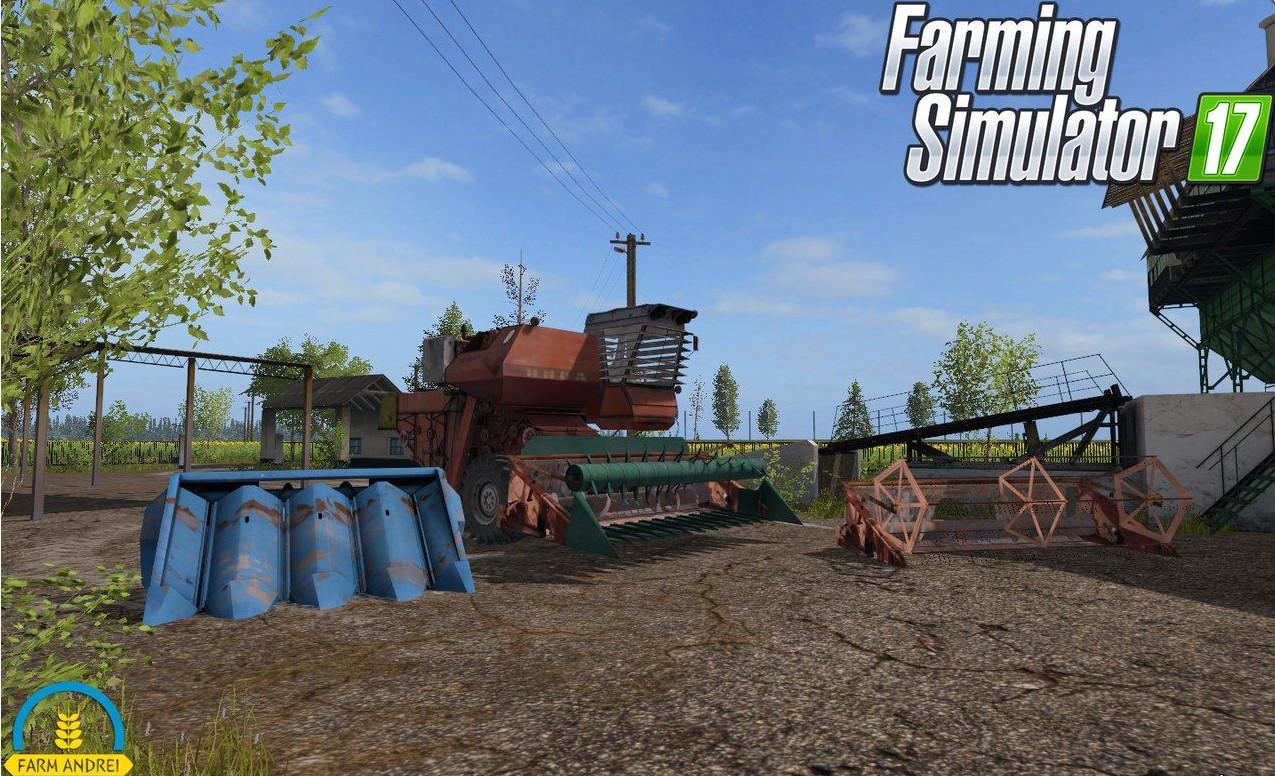 Русская техника для игры мод Мод комбайн «НИВА СК-5» для Farming Simulator 2017