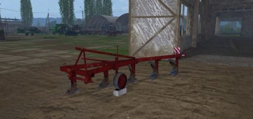Плуги для игры мод Мод плуг «ПЛН-5-35» для Farming Simulator 2017
