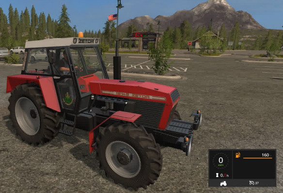 Тракторы для игры мод Мод трактора ZETOR 16145 для Farming Simulator 2017