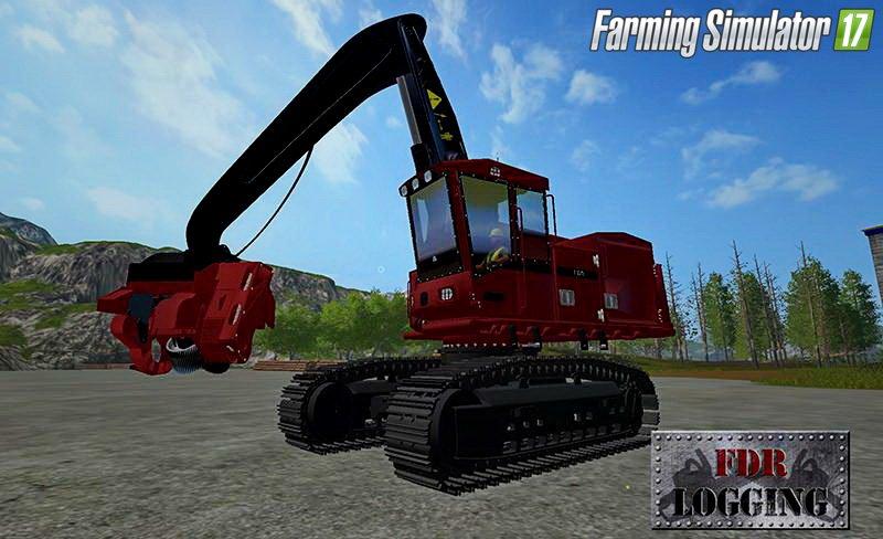 Лесозаготовка для игры мод Машина для лесозаготовки для Farming Simulator 2017.