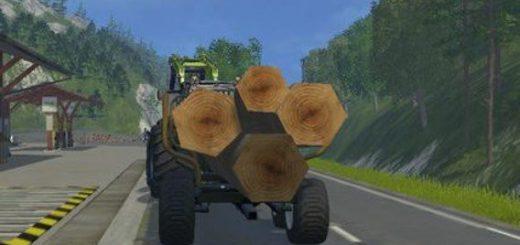 Другие моды для игры мод Мод на толстые стволы деревьев для Farming Simulator 2017