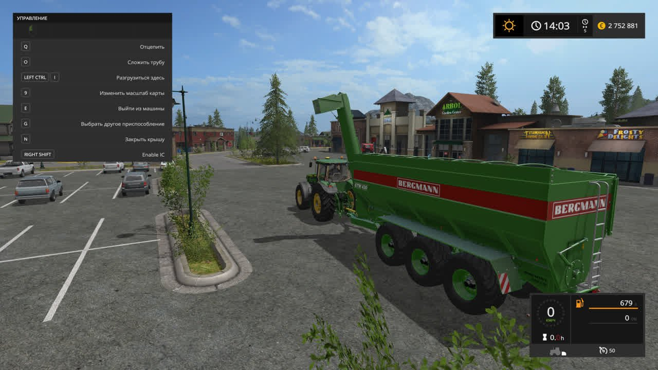 Прицепы для игры мод Мод прицеп BERGMANN GTW 430 для Farming Simulator 2017