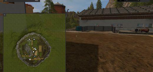 Карты для игры мод Карта «Zillertal Alps (Альпы)» для Farming Simulator 2017