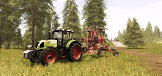 Тракторы для игры мод Мод трактор CLAAS ARION 620 Cebis для Farming Simulator 2017