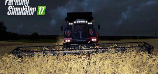 Русская техника для игры мод Мод комбайн «Ростсельмаш Торум 760» и жатка для Farming Simulator 2017