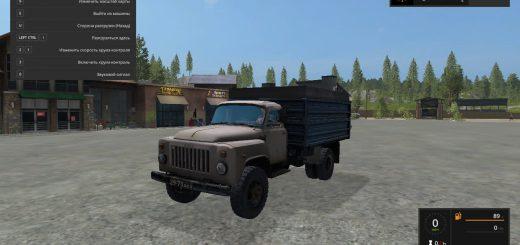 Русская техника для игры мод Мод грузовик «ГАЗ-53» для Farming Simulator 2017
