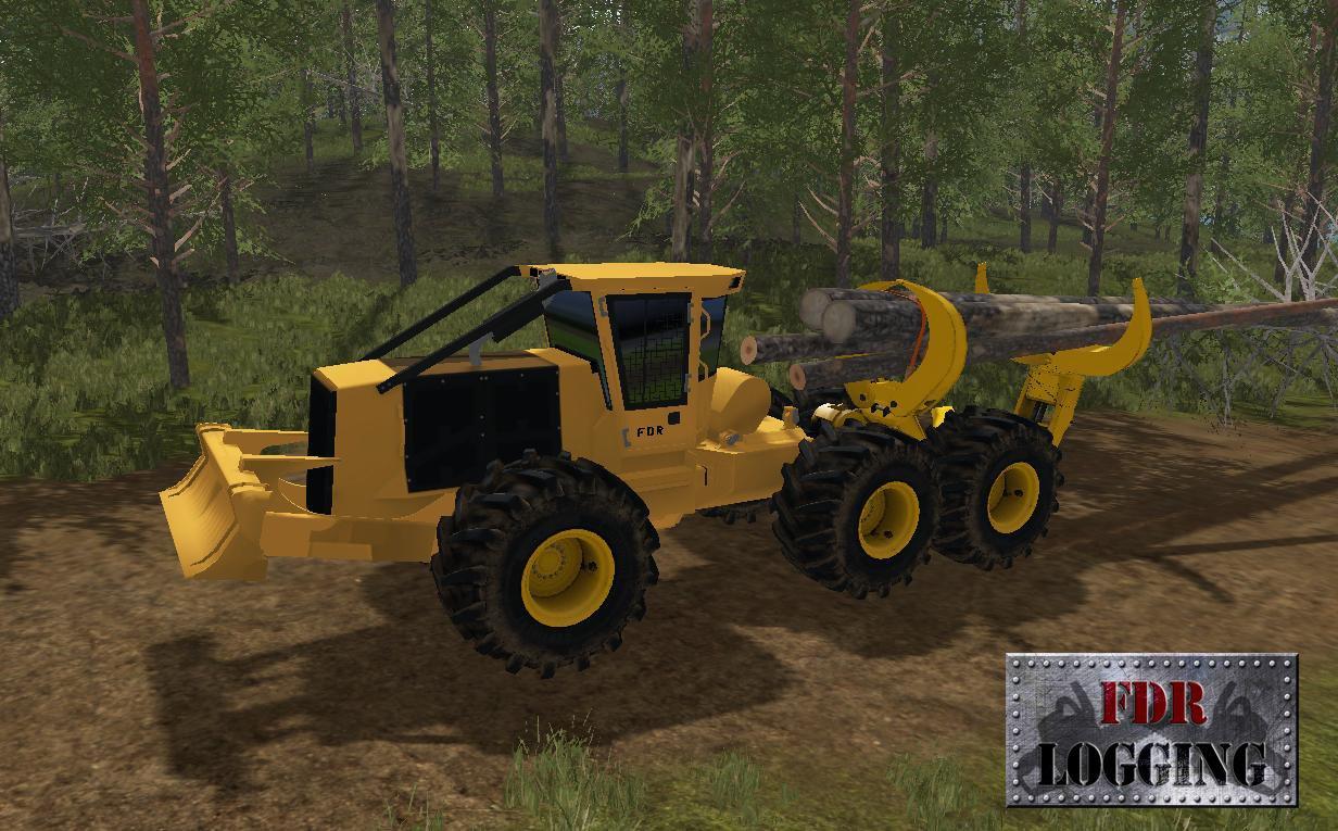 Грузовики для игры мод Мод CLAMBUNK SKIDDER для Farming Simulator 2017