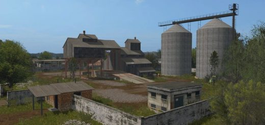 Карты для игры мод Русская карта Бухалово v 1.0 для Farming Simulator 2017